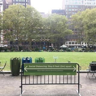 ニューヨークの憩いの場所
