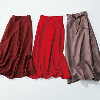 All¥14,000以下! 大人のための「プチプラマキシ」スカート