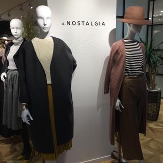 『&.NOSTALGIA』2016AW 展示会へ