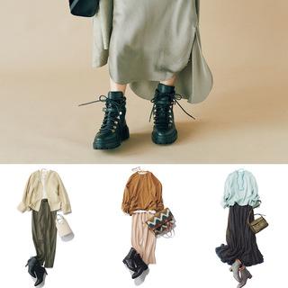 【2021秋のショートブーツ】カジュアル派もきれいめ派も使える! 万能ショートブーツを使った秋コーデまとめ|40代ファッション