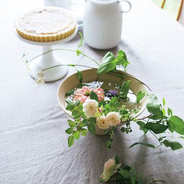 素敵な人の「自宅の花あしらい」 五選