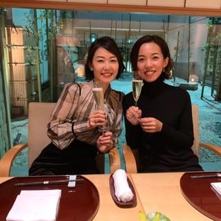 ウェスティンホテル東京・日本料理【舞】で秋の女子会ディナー