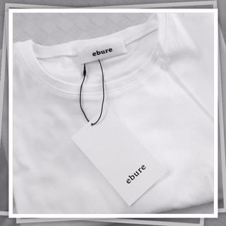"""アラフォー体型は""""ゆったり""""シルエットとキレイめ素材がありがたい♪ 「ebure(エブール)」の上品大人Tシャツ"""