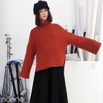 鈴木友菜はキャセリーニのベレー帽&DHOLICのバッグを愛用中!【モデルの私服スナップ】