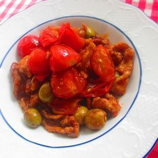 インナービューティを目指すなら。豚肉とトマト炒めレシピ