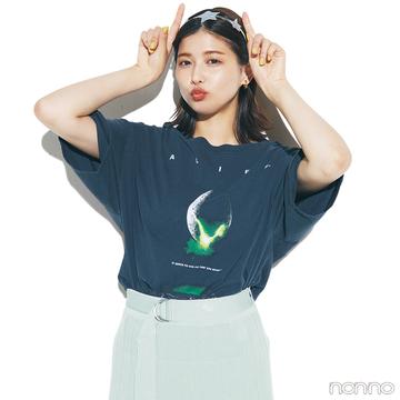 【#渡邉理佐の毎日Tシャツ】6/24は「UFOの日」