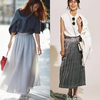 理想をかなえる大人のためのスカートコーデまとめ|40代夏ファッション