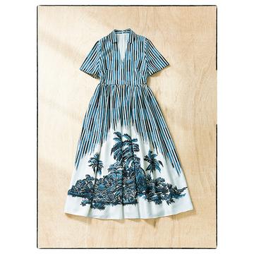 【夏先取りアイテム2選】エクラスタッフがひと目惚れしたドレス&サンダル
