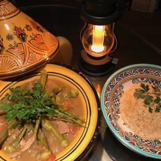 サハラ砂漠〜Zoomでつながったモロッコ料理レッスン♪