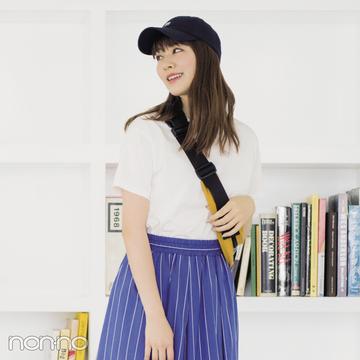 細見え&涼し気見えが叶うストライプスカート、真夏のコーデ3選!