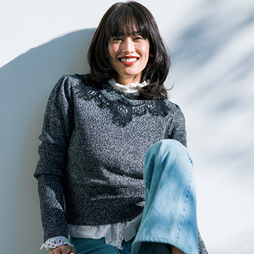モデル・高橋里奈さんの今季のおしゃれキーアイテムは?<おしゃれプロのほめられ冬アイテム>