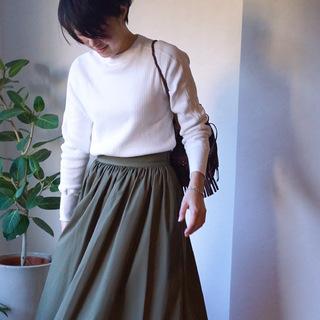 ひと足早めに春ファッション
