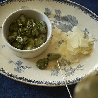 大人のリラックス時間を楽しむ。そら豆のオーブン焼き【平野由希子のおつまみレシピ #17】