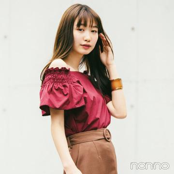 2019秋トレンド★ こっくりブラウンのIラインスカートがこの秋超使える!