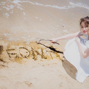 【海で撮影!!】