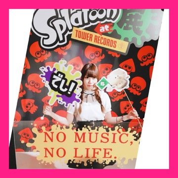 【Splatoon展】Shibuyaタワレコに行ってきました♡