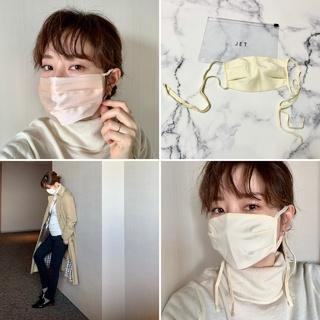 マスクを一新したら垢抜ける?「艶マスク シミシワ隠して 若作り。」