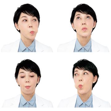 「4くばりトレ」で顔の筋力アップ!【老け顔解消トレーニング】