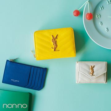 サンローランのミニ財布♡ 電子マネー時代が来る今こそ買い時!【20歳からの名品】