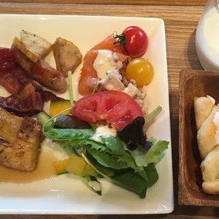 美味しいと評判の朝食も楽しみでした!