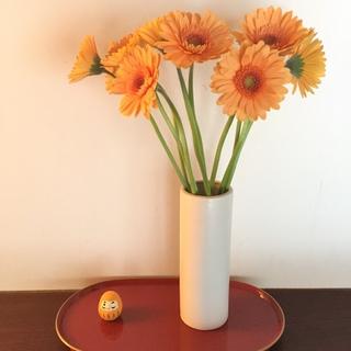 花を飾って春を取り入れる