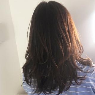 前髪カットで春らしく軽やかなヘアに♩