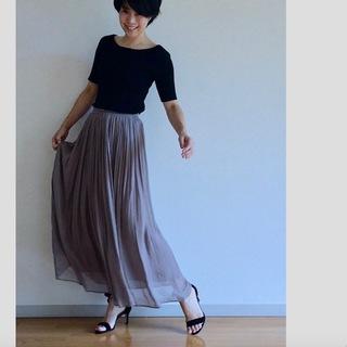女っぷりを叶えてくれるふんわりスカートで私のワンツーコーデ