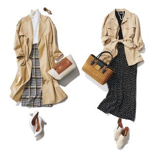 春こそ満喫!アラフォー向け着映えスカート6タイプ|40代レディースファッション