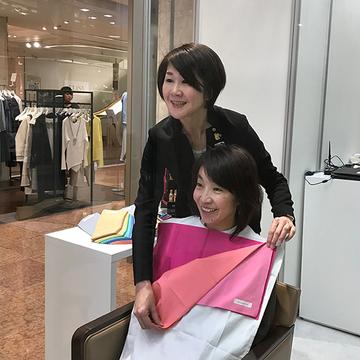日本橋三越本店で、パーソナル・ショッピングを体験!