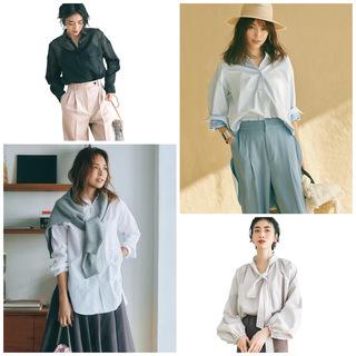 この春のHIT服「シャツ」をアラフォーはこう着る!最旬シャツコーデまとめ|40代ファッション