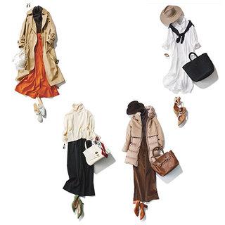 40代のファッション・ファッションコーディネート見本帖