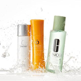 ピリピリ、ゴワゴワ、テカテカ、どんより…悩みに合わせた特化型化粧水【アラフォーのための化粧水】