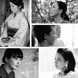 6人の女性たちの「美しい横顔」にフォーカス。「クレ・ド・ポー ボーテ」の写真展開催