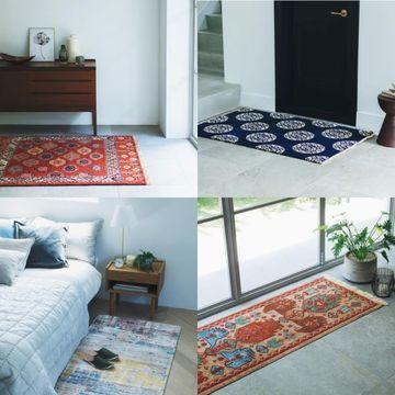 【センスのいい家】住まいを上質な空間へと変える「美しい絨毯」