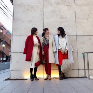 ドレスコードはsomething red クリスマス大人女子会