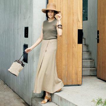 スタイリスト森慶子さんが提案!エレガントな『raspail』の夏スタイル