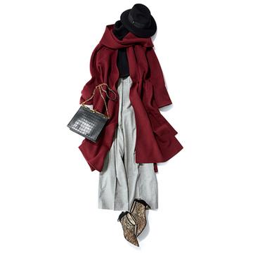 【Day15-21】舞台鑑賞、ホームパーティ、冬の街散歩… 冬のパンツスタイル7【冬の洗練パンツ30days】