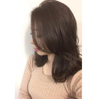 ベージュ艶カラーで春の髪準備。_1_6