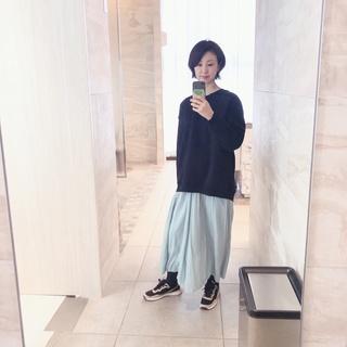 【ZARA】ブラック×ベージュ スニーカー_1_3