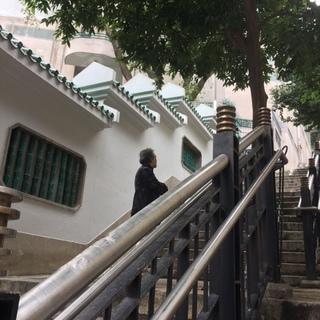 香港的撮影スポット Ladder Street