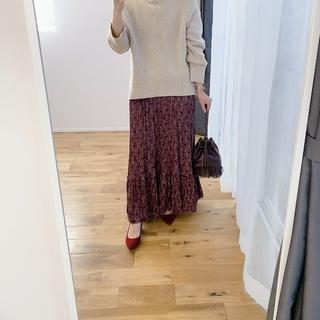 【セール戦利品①】ZARAのプリントスカート