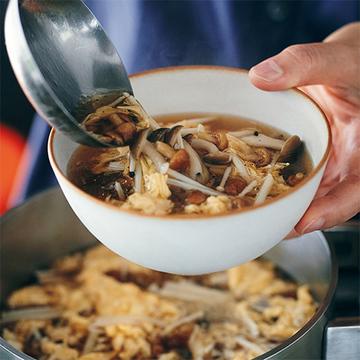 きのこと黒酢の相性抜群!疲労回復にも効果的な「きのこスープ」【ウー・ウェンさんのからだ想いの家中華】