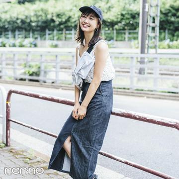 ノンノモデル鈴木友菜の夏私服♡ 野外フェスコーデからQ&Aまで!