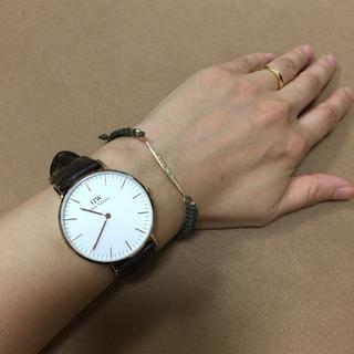 ヘビロテするのは、ダニエル・ウェリントンの腕時計【SHOP Marisol】