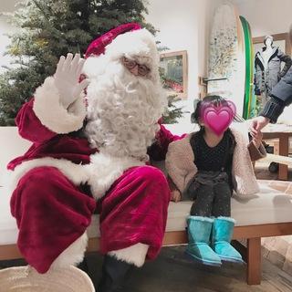 【クリスマスの過ごし方】ロンハーマンでサンタクロースに会える!