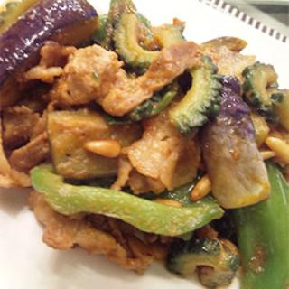 豚肉と夏野菜の味噌ケチャップソテーで夏バテなんか怖くない!