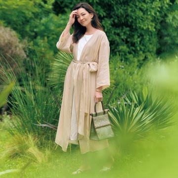 【ナチュラルカラーの夏ファッション3選】今すぐ活躍する夏のベストバイアイテムとは?