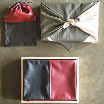 日本人の所作に添い心を包む革小物 緙室(かわむろ) s e n