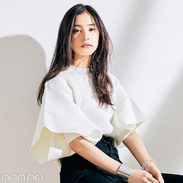 新木優子がこの秋キープした #きょコ盛れニット&コーデ、見せて!