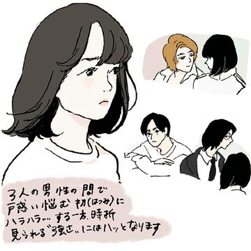 揺れ動きまくる女子。【イラストレーター チヤキが描く映画の中の愛すべき女子図鑑】